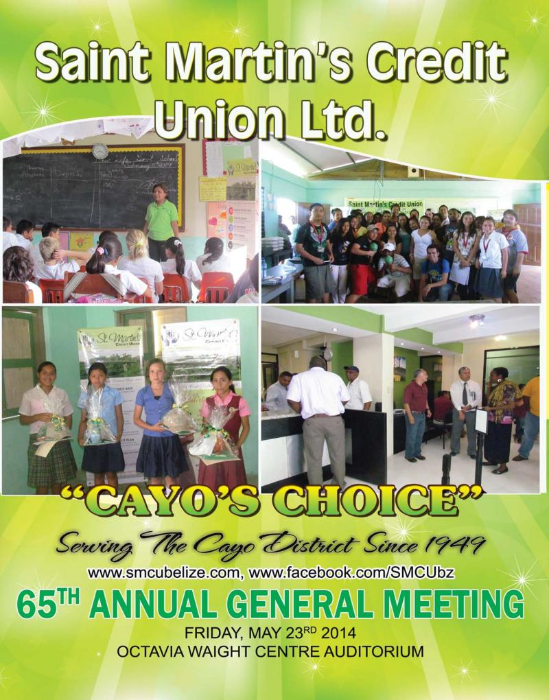 65th agm cover