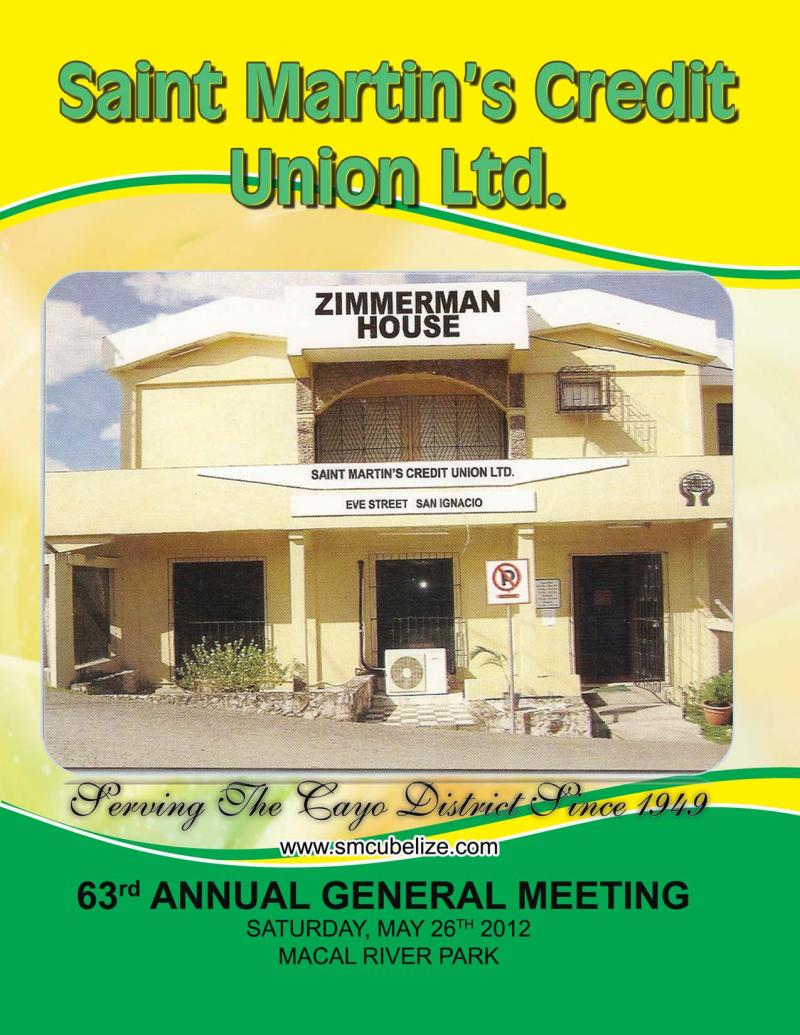 63rd AGM Booklet Cover