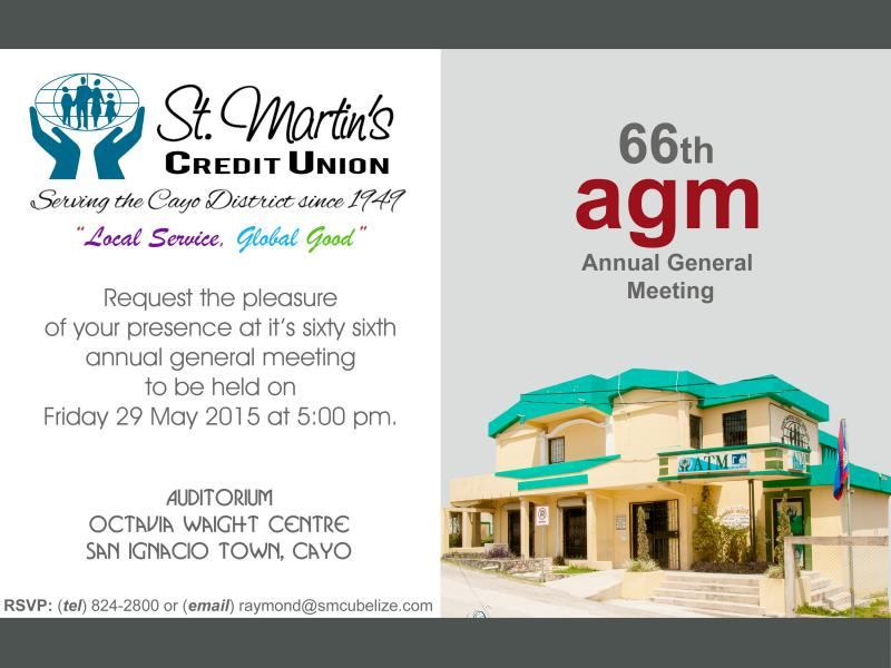 2015 agm ivitation